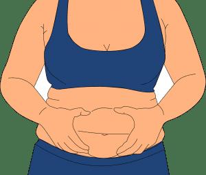 exceso de piel en el abdomen